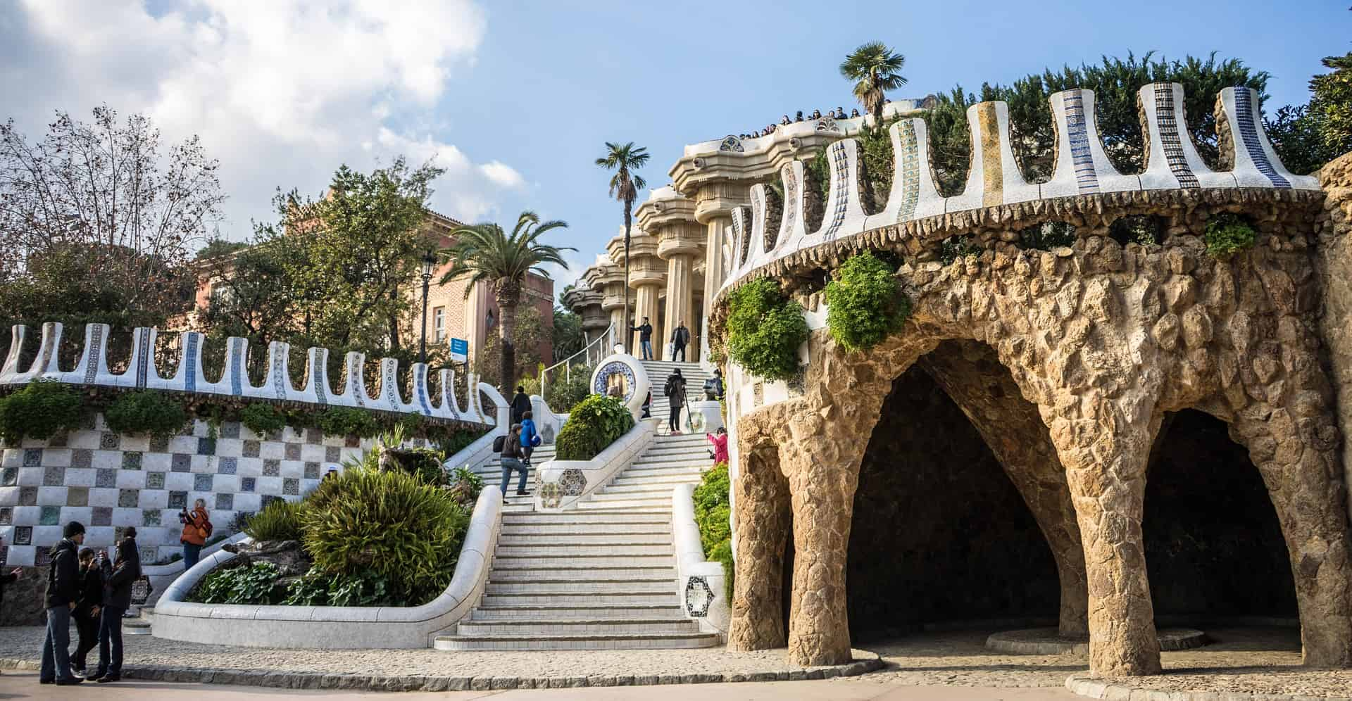 Guell Ppark - Barcelona Travel Destination