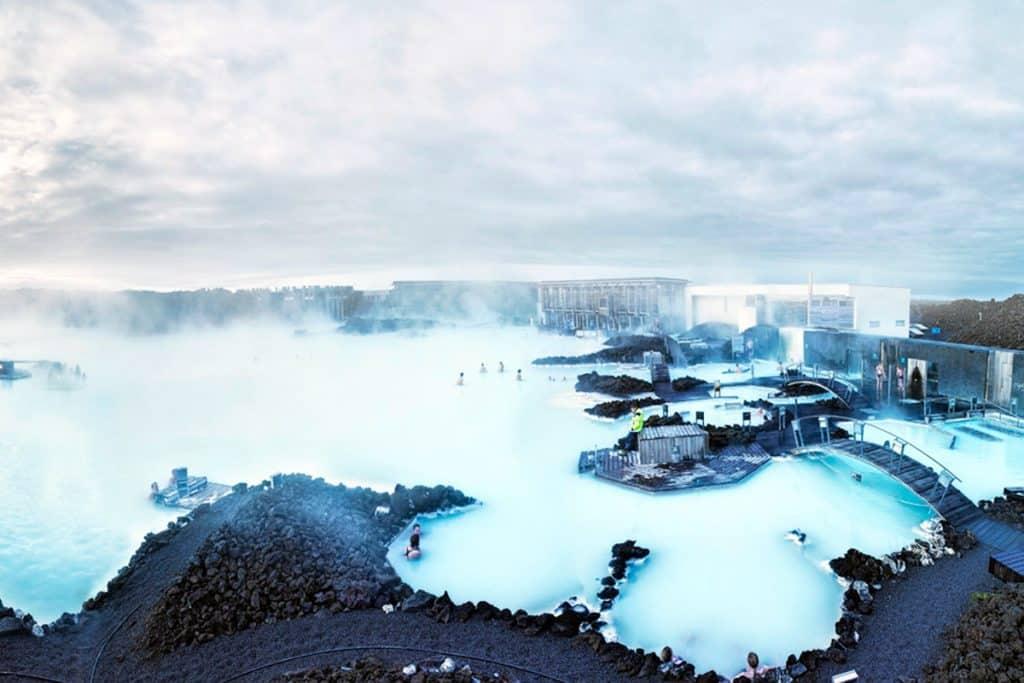 Blue Lagoon, Thermal Springs, Iceland