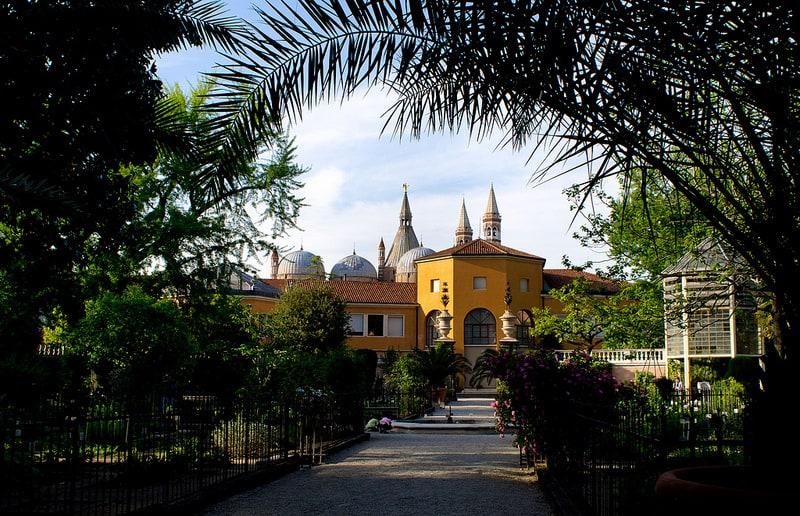 Botanical Gardens in Padua, Italy