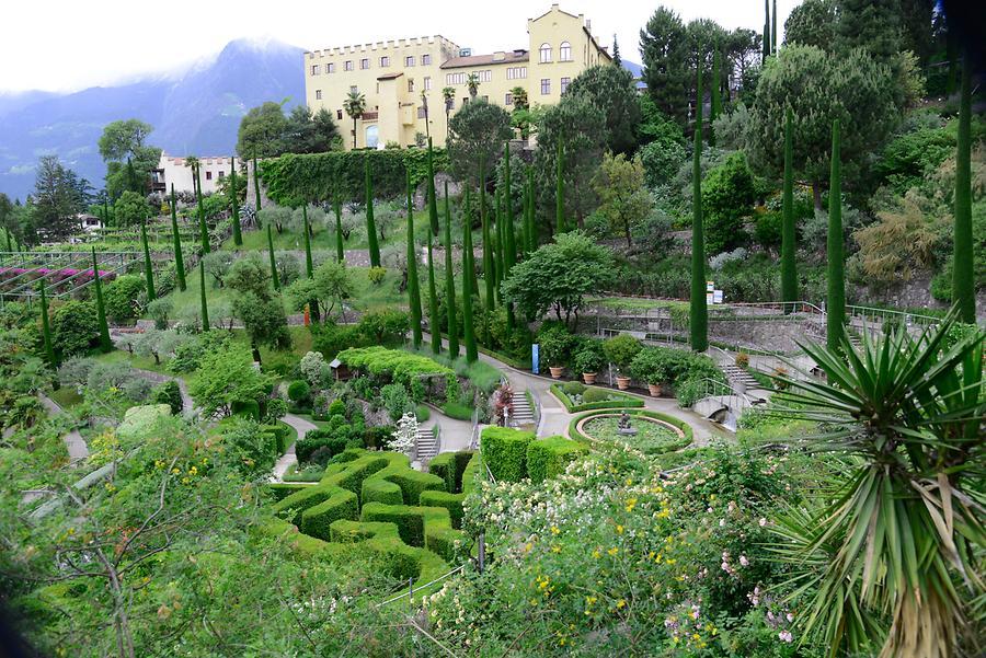 Gardens at Trauttmansdorff Castle, Merano, Italy