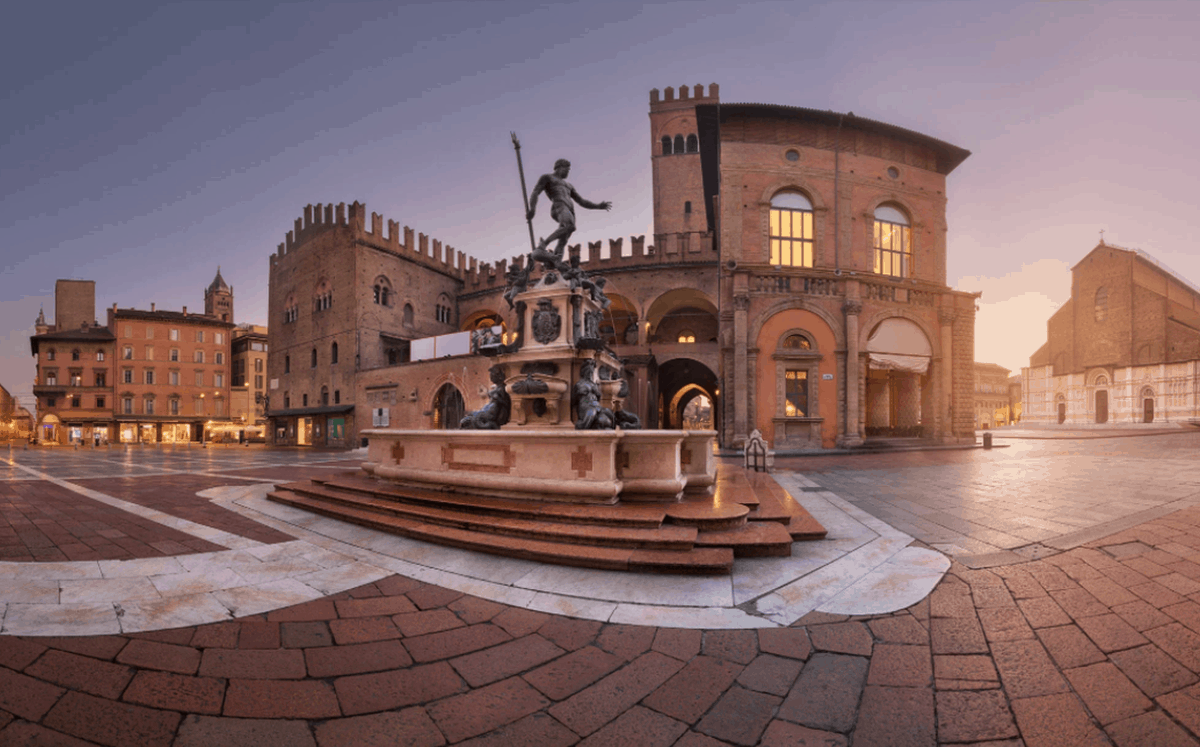 Piazza del Nettuno, Bologna, Italy