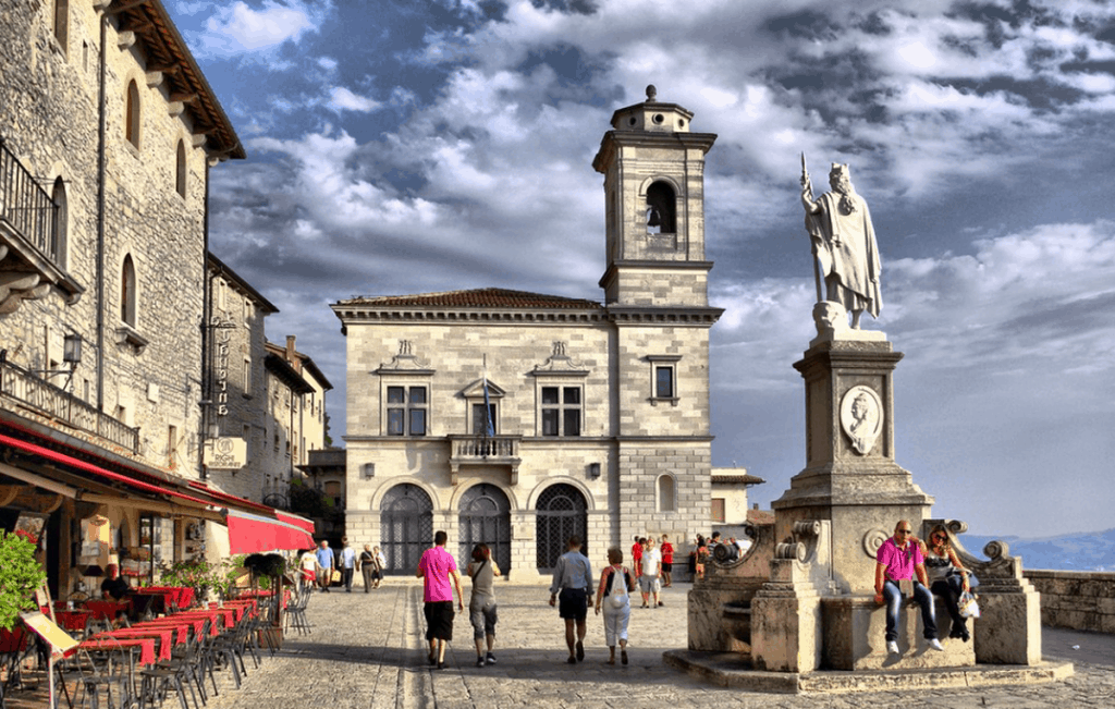 Piazza della Liberta, San Marino