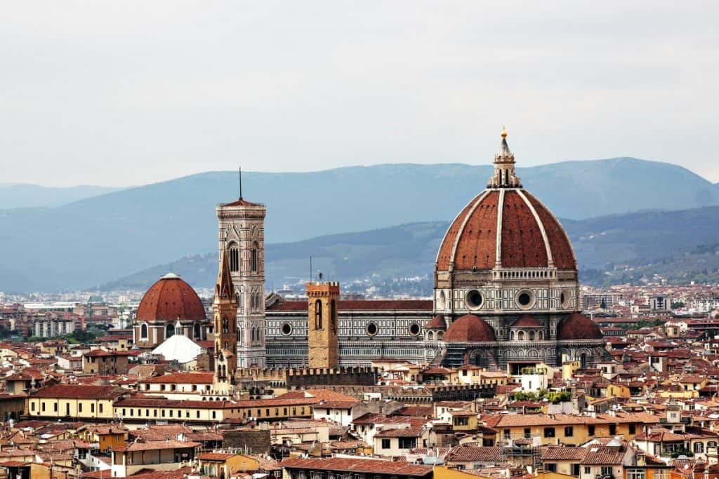 The Dome of Florence or the Cathedral of Santa Maria del Fiore
